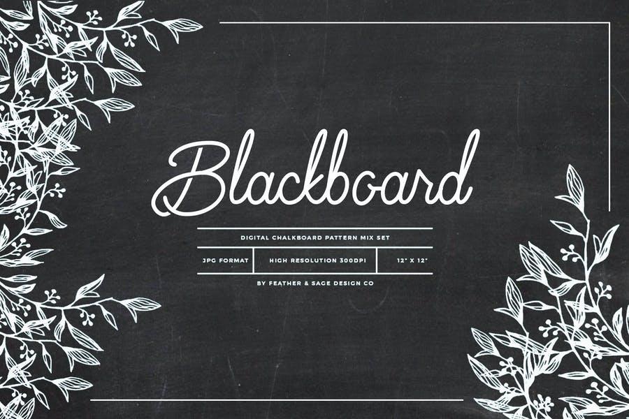 Chakboard pattern Design Set