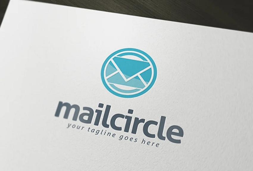 Circular Logo Design Idea