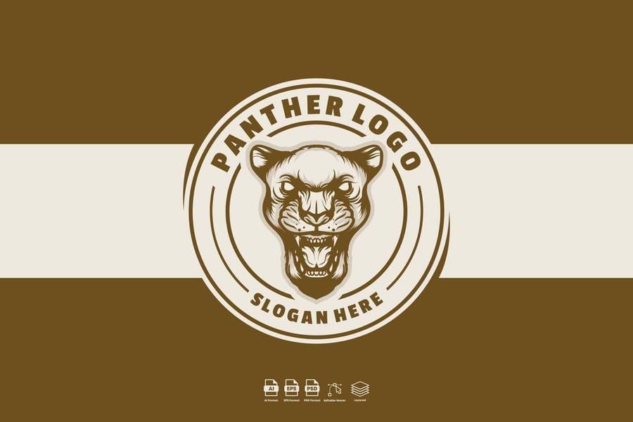 Circular Panther Logo Designs