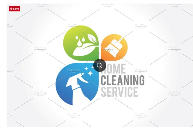 Cleaning Business Identity Design