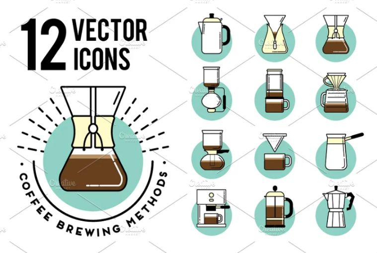 Coffee Brewing Identity Designs