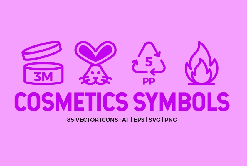 Cosmetic Symbols Vector Pack