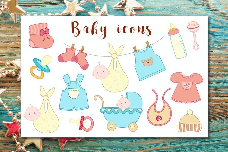 Creative Baby Vector Illustrations
