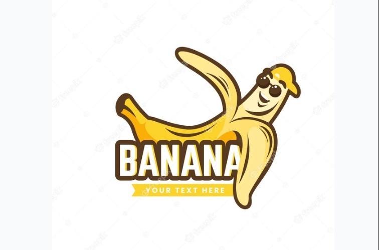 Creative Banana Illustration Design