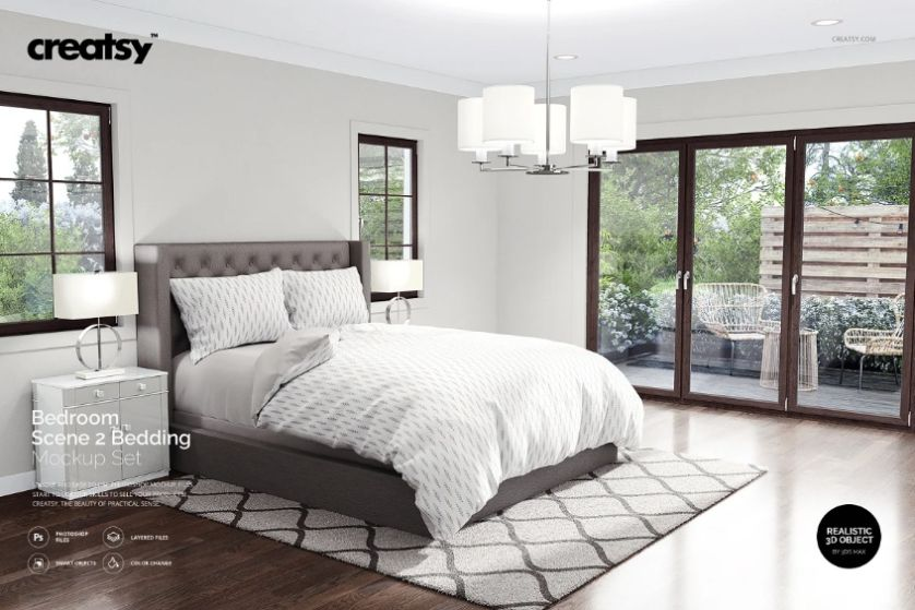 Creative Bedding Mockup Set