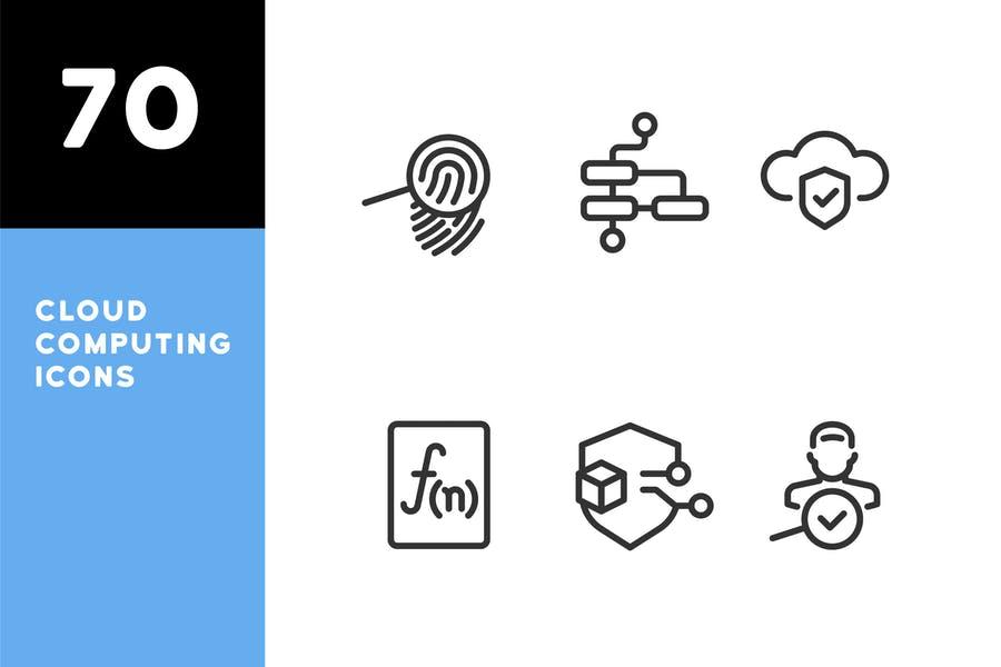 Creative IT Icons Set