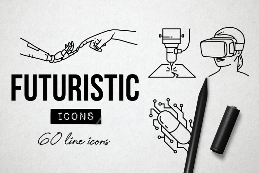 Creative Technology Blog Icons
