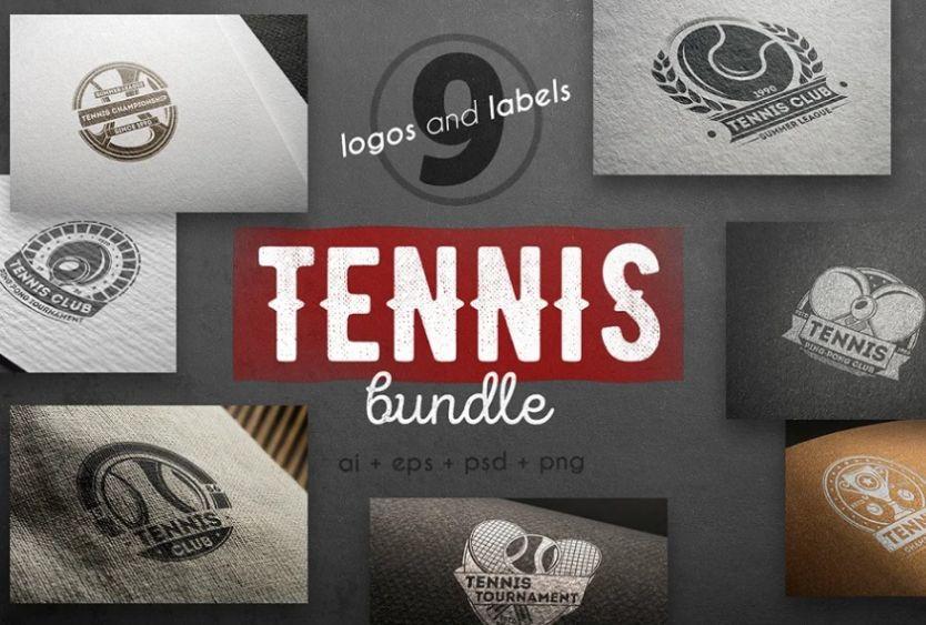 Creative Tennis Logo Bundle