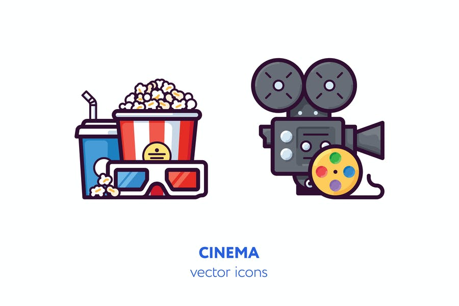 Creative Vector Icons Set