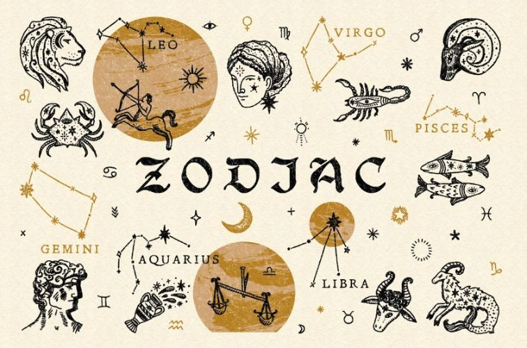 17+ FREE Zodiac Icons Vector Download