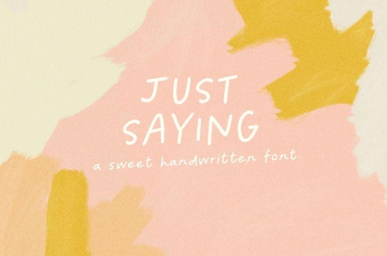 Cute Hand Written Fonts