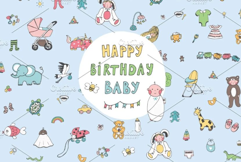 Cute Happy Birthday Backgrounds