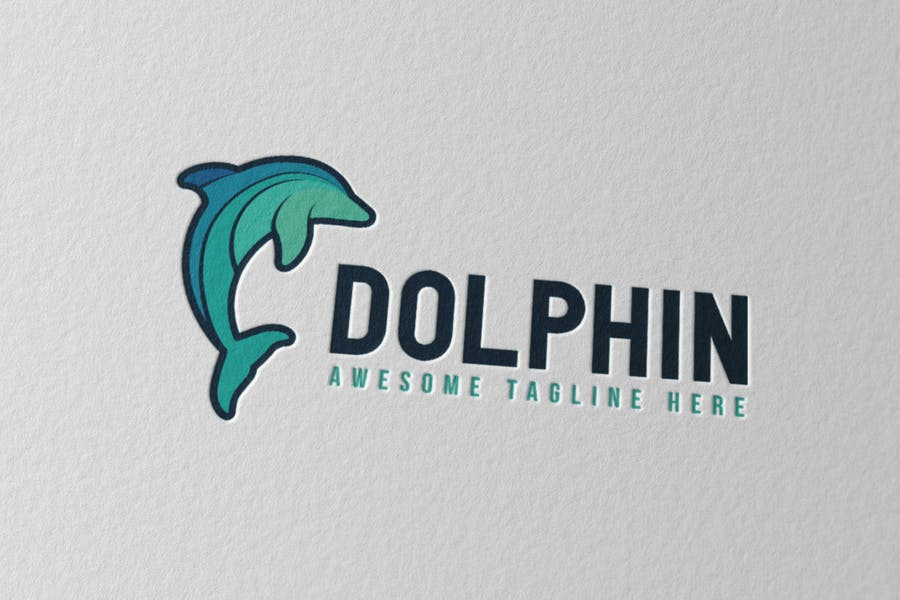 Cute Ocean Animal Logos