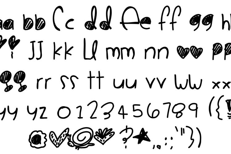 Cute Style Monster Fonts