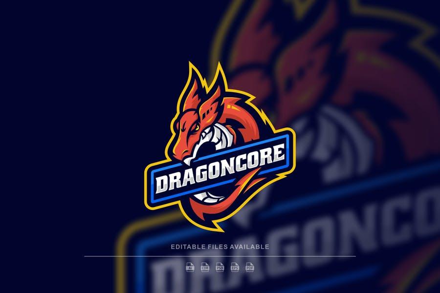 Dragon Style Logo Design