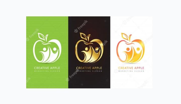 Elegant Apple Identity Design
