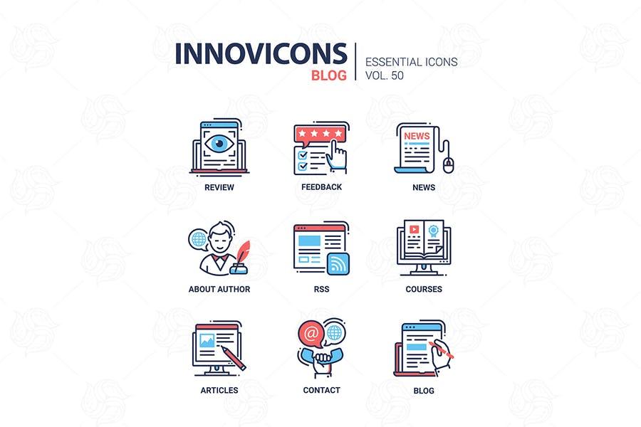 Essential WordPress Blog Vectors