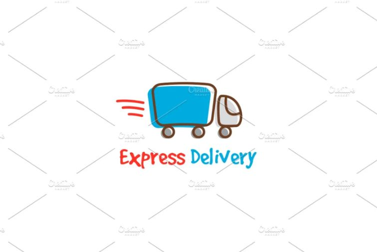 Express Delivery Identity design