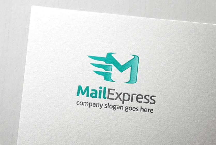 Express Mail Identity Design