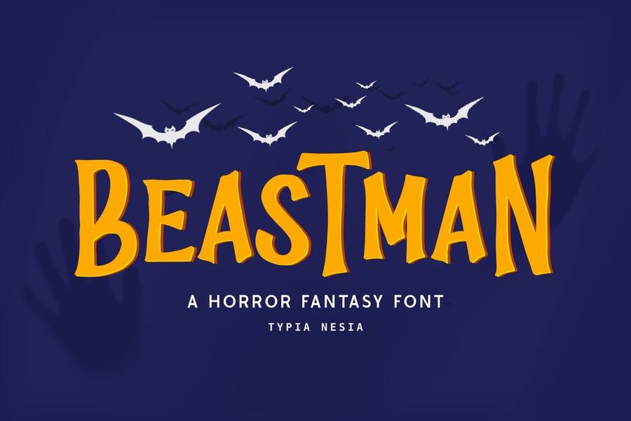 Fantasy Horror Style Fonts