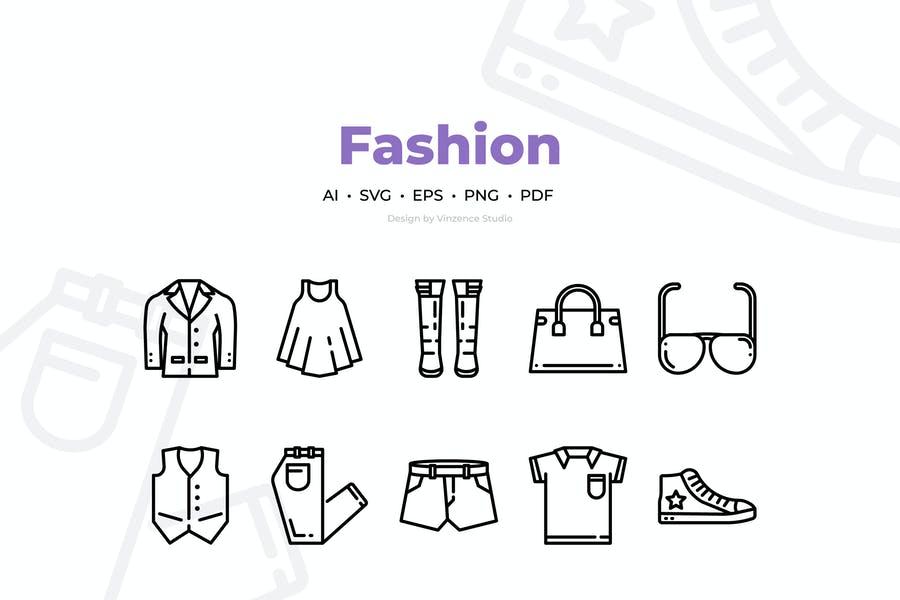 Fashion Ai and EPS Icons
