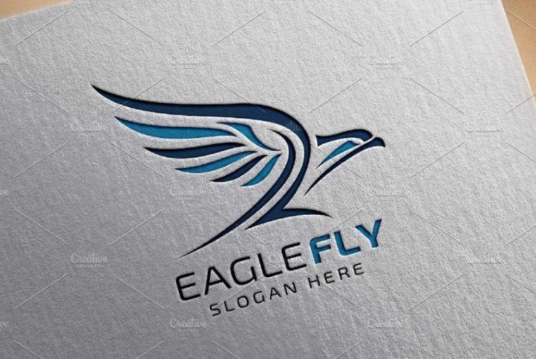 Fast Flying Eagle Identity Design