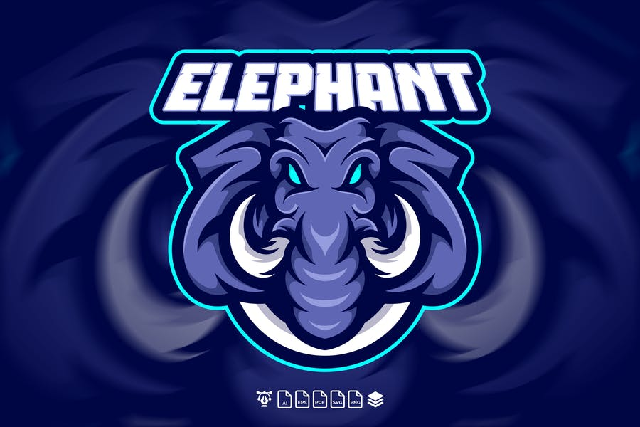 Fierce Elephant Identity Design