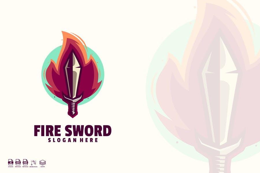 Fire Sword Identity Design