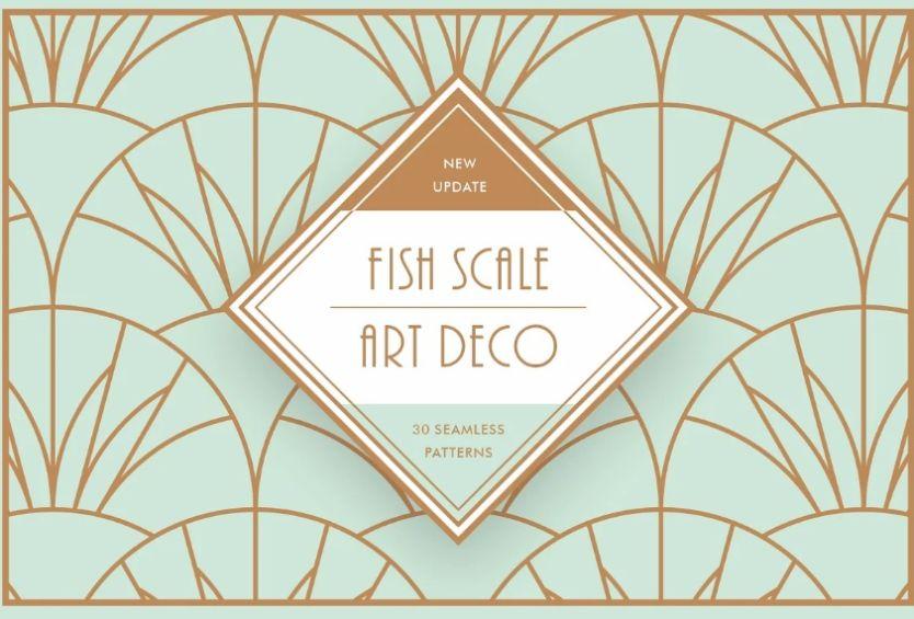 Fish Scale Art Design