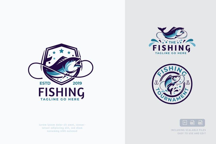 Fishing Business Identity Design