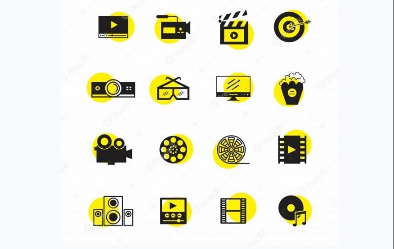 Fre Multimedia Icons Set