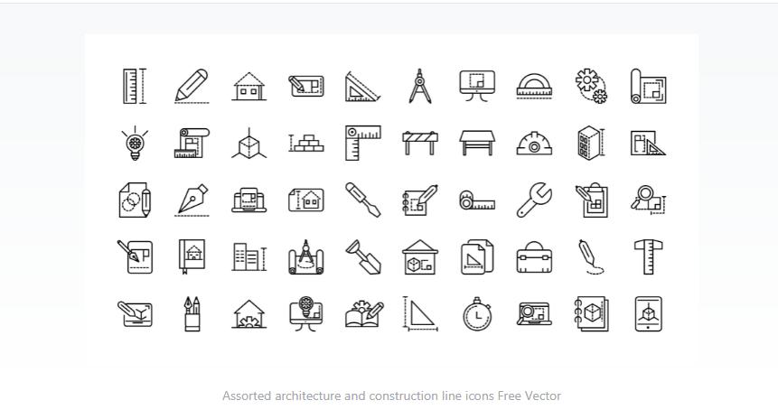 Free Architecture Icon Set