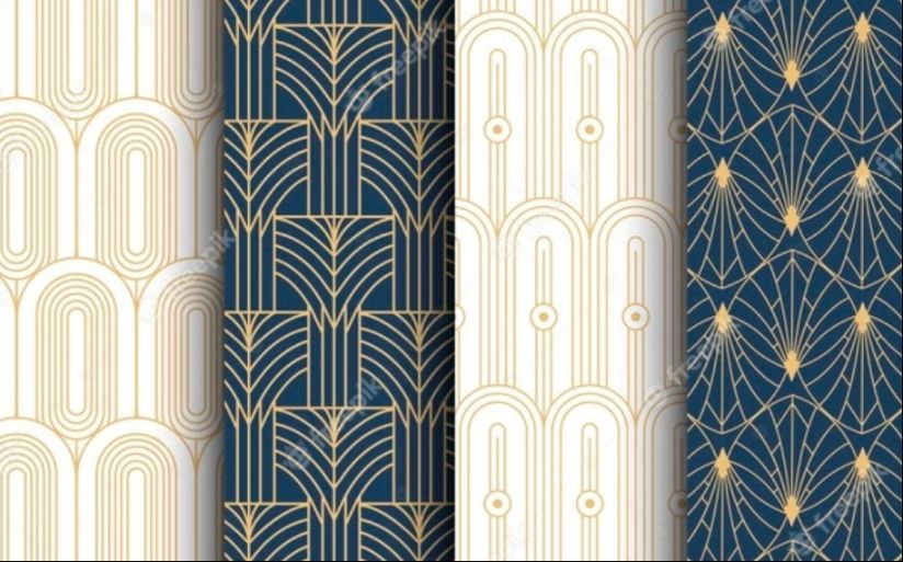 Free Art Deco Background