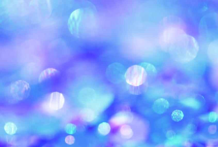 Free Blue Sparkle Background