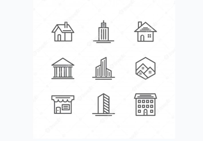 Free Building Vector Icons