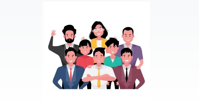 Free Business People Illustration