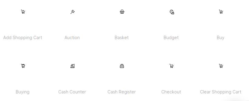 Free Cart Icons Set