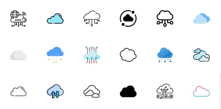 Free Cloud Vectors