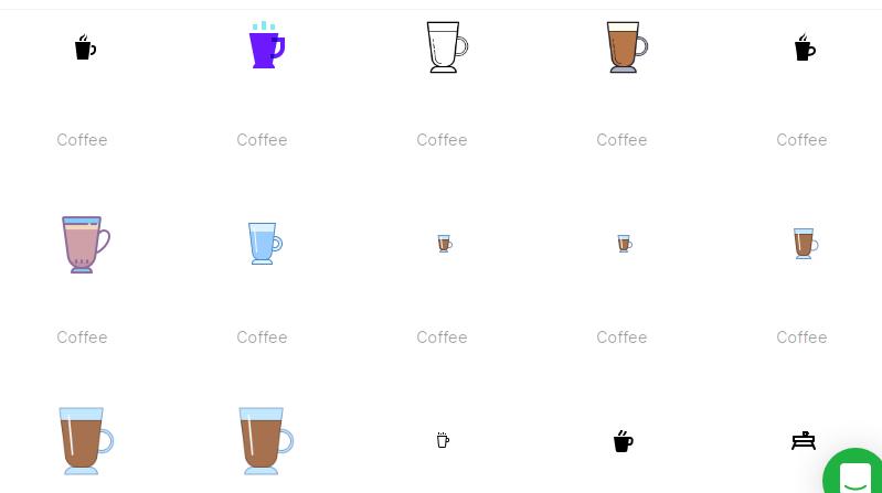 Free Coffee Icons Set