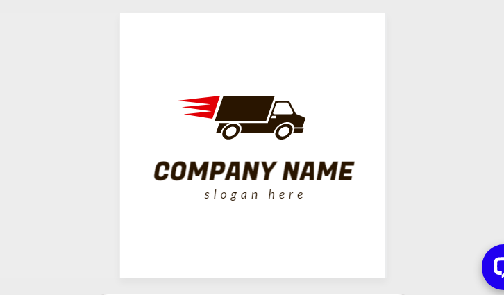 Free Delivery Truck Identity Design