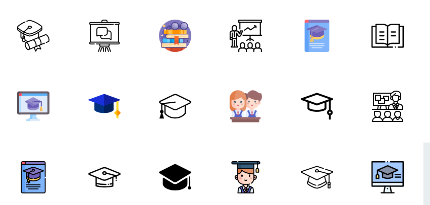 Free Educational Icons