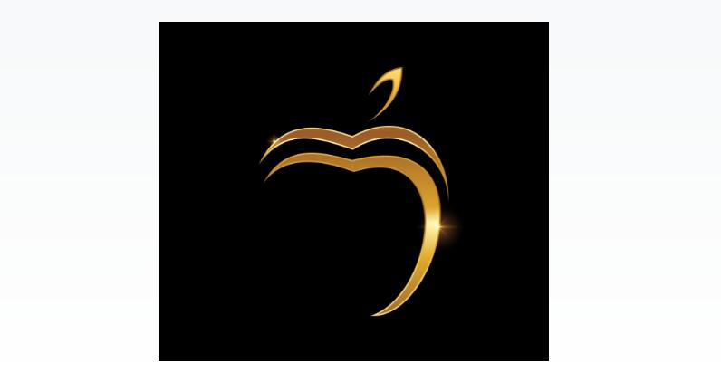 Free Elegant Apple Logo
