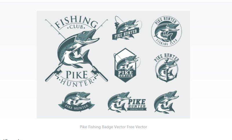Free Fishing Club Logo