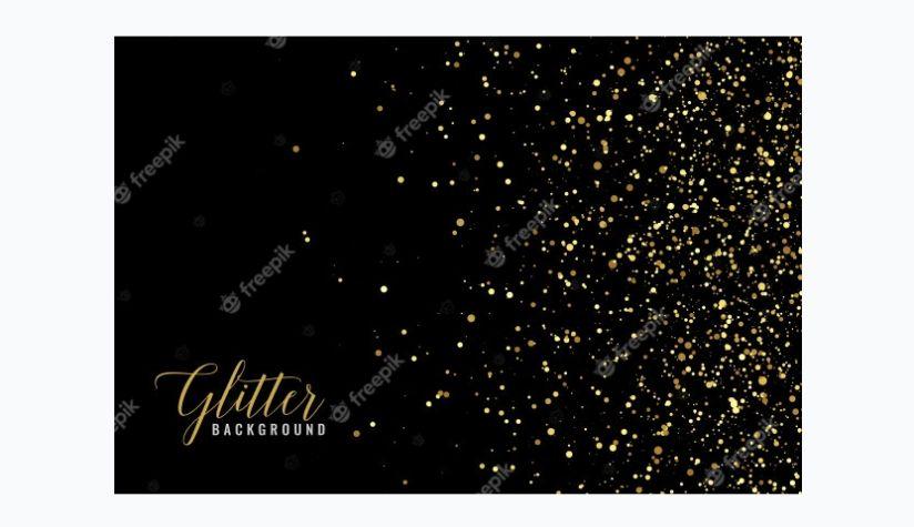 Free Glitter Dust Background