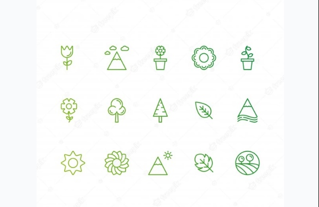 Free Green Nature Icons