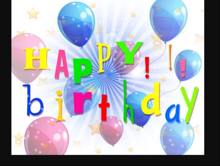 Free Happy Birthday Vector