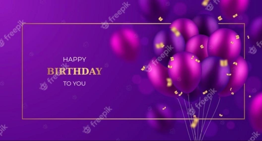 Free Happy Birthday background
