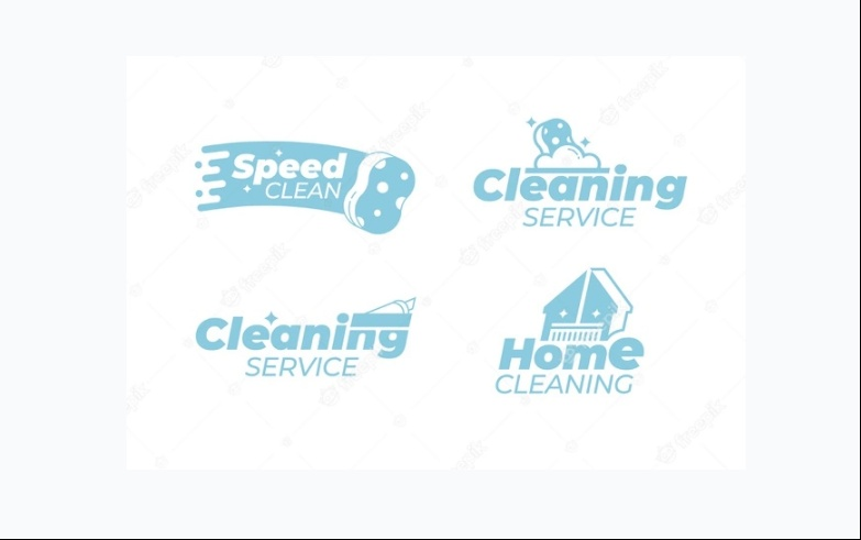 Free Home Cleaning Logo