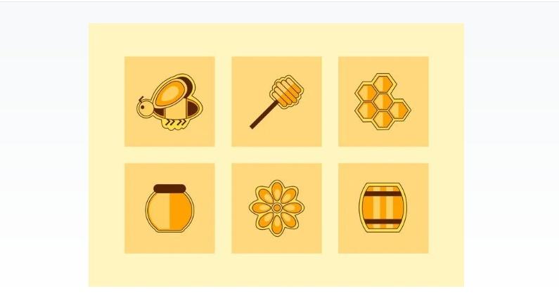 Free Honey Icon Set