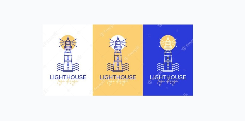 Free Lighthouse Logo design